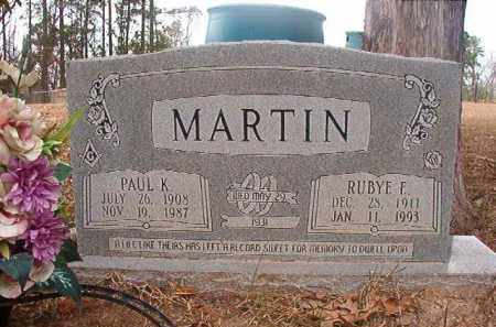 MARTIN, RUBYE E - Union County, Arkansas | RUBYE E MARTIN - Arkansas Gravestone Photos