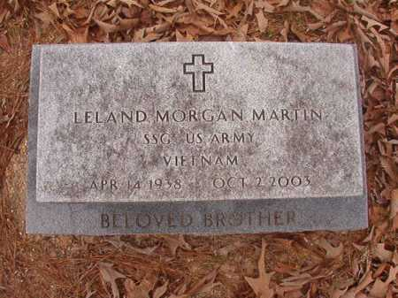 MARTIN (VETERAN VIET), LELAND MORGAN - Union County, Arkansas | LELAND MORGAN MARTIN (VETERAN VIET) - Arkansas Gravestone Photos