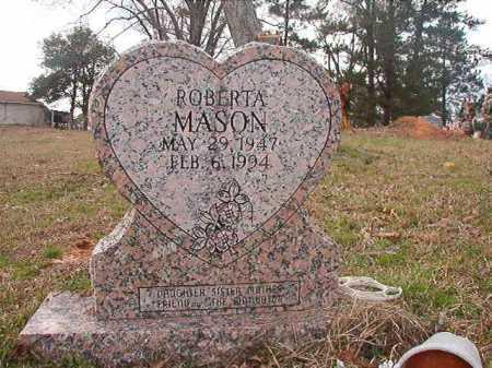 MASON, ROBERTA - Union County, Arkansas | ROBERTA MASON - Arkansas Gravestone Photos