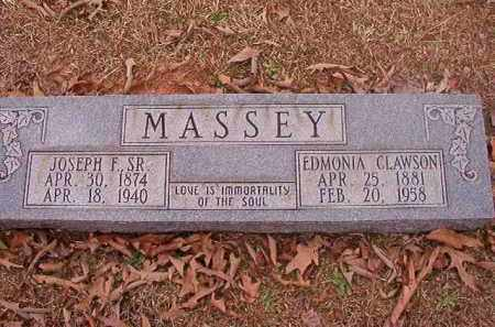 CLAWSON MASSEY, EDMONIA - Union County, Arkansas | EDMONIA CLAWSON MASSEY - Arkansas Gravestone Photos
