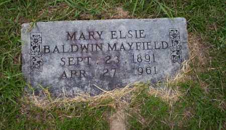 MAYFIELD, MARY ELSIE - Union County, Arkansas | MARY ELSIE MAYFIELD - Arkansas Gravestone Photos