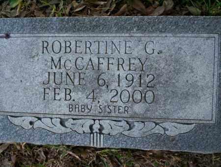 MCCAFFREY, ROBERTINE G - Union County, Arkansas | ROBERTINE G MCCAFFREY - Arkansas Gravestone Photos