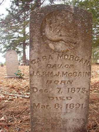 MCCAIN, CARA MORGAN - Union County, Arkansas | CARA MORGAN MCCAIN - Arkansas Gravestone Photos