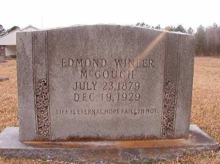 MCGOUGH, EDMOND WINFER - Union County, Arkansas   EDMOND WINFER MCGOUGH - Arkansas Gravestone Photos