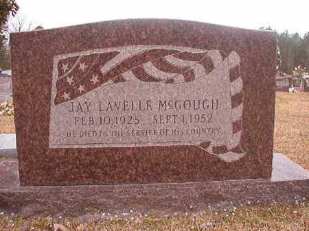 MCGOUGH, JAY LAVELLE - Union County, Arkansas | JAY LAVELLE MCGOUGH - Arkansas Gravestone Photos