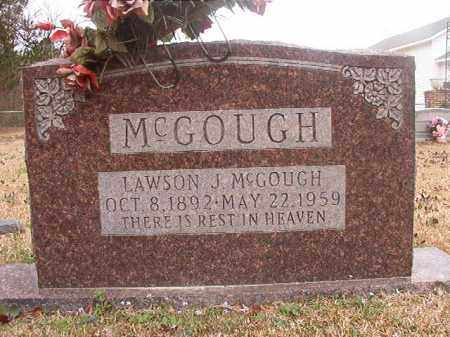 MCGOUGH, LAWSON J - Union County, Arkansas | LAWSON J MCGOUGH - Arkansas Gravestone Photos