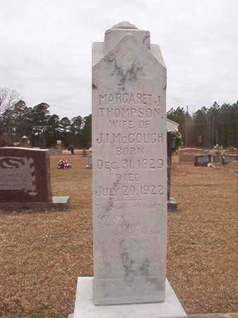 THOMPSON MCGOUGH, MARGARET J - Union County, Arkansas | MARGARET J THOMPSON MCGOUGH - Arkansas Gravestone Photos