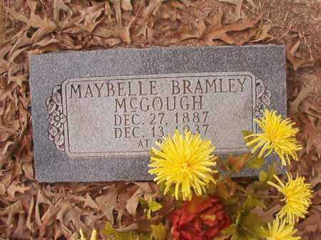 BRAMLEY MCGOUGH, MAYBELLE - Union County, Arkansas | MAYBELLE BRAMLEY MCGOUGH - Arkansas Gravestone Photos