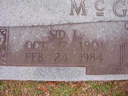 MCGOUGH, SID L - Union County, Arkansas | SID L MCGOUGH - Arkansas Gravestone Photos