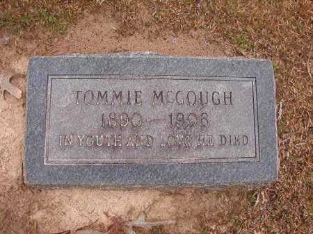 MCGOUGH, TOMMIE - Union County, Arkansas   TOMMIE MCGOUGH - Arkansas Gravestone Photos