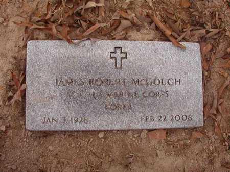 MCGOUGH (VETERAN KOR), JAMES ROBERT - Union County, Arkansas | JAMES ROBERT MCGOUGH (VETERAN KOR) - Arkansas Gravestone Photos
