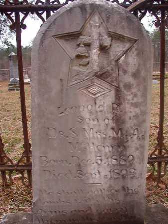 MCHENRY, LEOPOLD R - Union County, Arkansas   LEOPOLD R MCHENRY - Arkansas Gravestone Photos