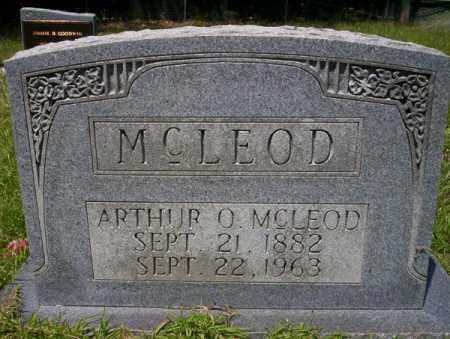 MCLEOD, ARTHUR O - Union County, Arkansas | ARTHUR O MCLEOD - Arkansas Gravestone Photos