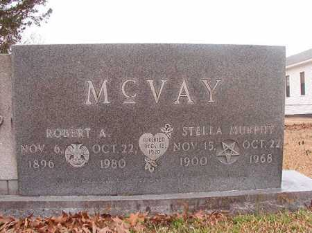 MURPHY MCVAY, STELLA - Union County, Arkansas | STELLA MURPHY MCVAY - Arkansas Gravestone Photos