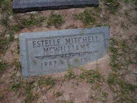 MITCHELL MCWILLIAMS, ESTELLE - Union County, Arkansas | ESTELLE MITCHELL MCWILLIAMS - Arkansas Gravestone Photos