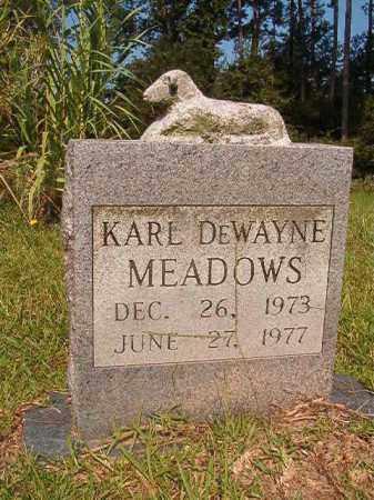 MEADOWS, KARL DEWAYNE - Union County, Arkansas | KARL DEWAYNE MEADOWS - Arkansas Gravestone Photos
