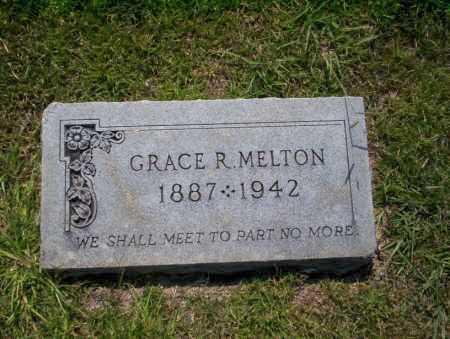MELTON, GRACE R - Union County, Arkansas | GRACE R MELTON - Arkansas Gravestone Photos