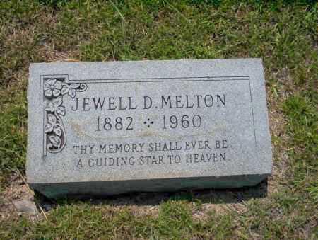 MELTON, JEWELL D - Union County, Arkansas | JEWELL D MELTON - Arkansas Gravestone Photos
