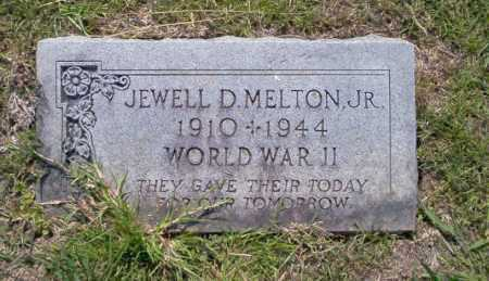 MELTON, JR.  (VETERAN WWII), JEWELL D. - Union County, Arkansas | JEWELL D. MELTON, JR.  (VETERAN WWII) - Arkansas Gravestone Photos