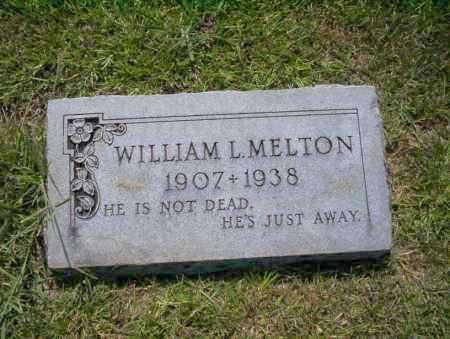MELTON, WILLIAM L - Union County, Arkansas | WILLIAM L MELTON - Arkansas Gravestone Photos