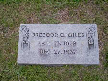 MILES, FREEMON W - Union County, Arkansas | FREEMON W MILES - Arkansas Gravestone Photos