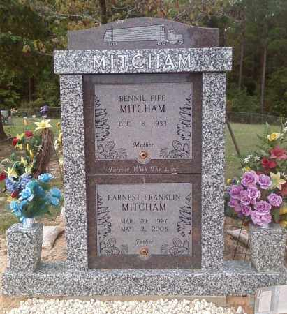MITCHAM, EARNEST FRANKLIN - Union County, Arkansas | EARNEST FRANKLIN MITCHAM - Arkansas Gravestone Photos