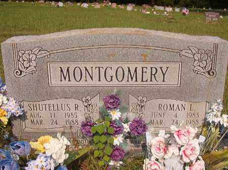 MONTGOMERY, ROMAN L - Union County, Arkansas | ROMAN L MONTGOMERY - Arkansas Gravestone Photos