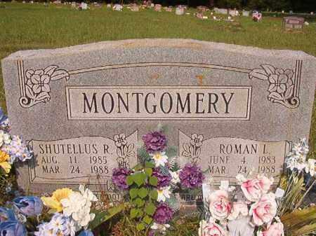MONTGOMERY, SHUTELLUS R - Union County, Arkansas | SHUTELLUS R MONTGOMERY - Arkansas Gravestone Photos