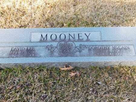 MCCAIN MOONEY, DOROTHY - Union County, Arkansas   DOROTHY MCCAIN MOONEY - Arkansas Gravestone Photos