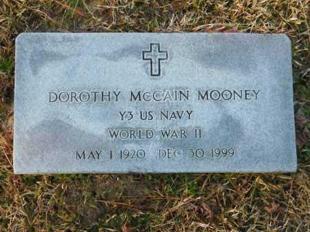 MCCAIN MOONEY (VETERAN WWII), DOROTHY - Union County, Arkansas | DOROTHY MCCAIN MOONEY (VETERAN WWII) - Arkansas Gravestone Photos