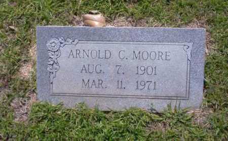 MOORE, ARNOLD C - Union County, Arkansas   ARNOLD C MOORE - Arkansas Gravestone Photos