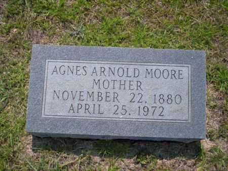 ARNOLD MOORE, AGNES - Union County, Arkansas   AGNES ARNOLD MOORE - Arkansas Gravestone Photos