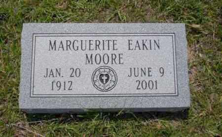 EAKIN MOORE, MARGUERITE - Union County, Arkansas | MARGUERITE EAKIN MOORE - Arkansas Gravestone Photos