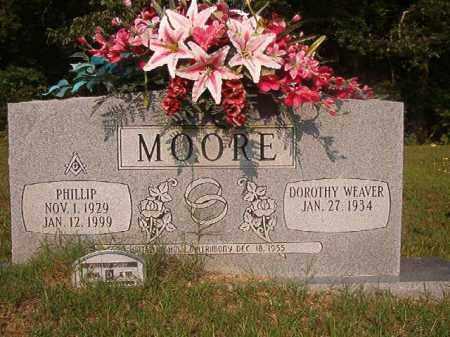 MOORE, PHILLIP - Union County, Arkansas   PHILLIP MOORE - Arkansas Gravestone Photos