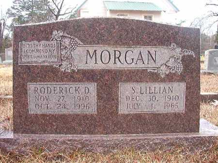MORGAN, S LILLIAN - Union County, Arkansas | S LILLIAN MORGAN - Arkansas Gravestone Photos