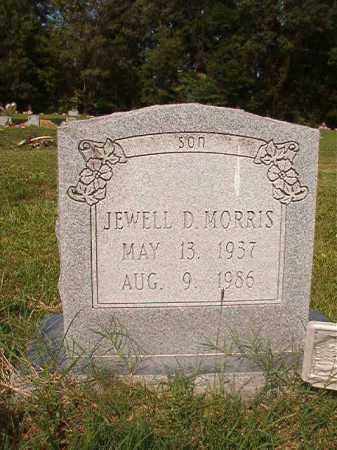 MORRIS, JEWELL D - Union County, Arkansas | JEWELL D MORRIS - Arkansas Gravestone Photos