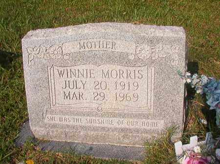 MORRIS, WINNIE - Union County, Arkansas | WINNIE MORRIS - Arkansas Gravestone Photos