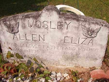 MOSLEY, ALLEN - Union County, Arkansas   ALLEN MOSLEY - Arkansas Gravestone Photos