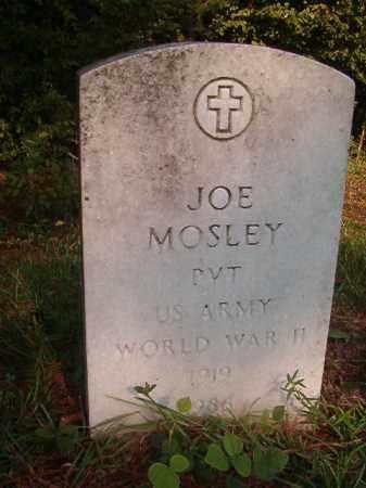 MOSLEY (VETERAN WWII), JOE - Union County, Arkansas   JOE MOSLEY (VETERAN WWII) - Arkansas Gravestone Photos