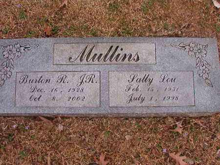 MULLINS, JR, BURTON R - Union County, Arkansas | BURTON R MULLINS, JR - Arkansas Gravestone Photos