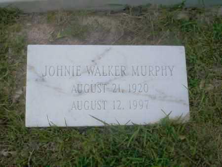 WALKER MURPHY, JOHNIE - Union County, Arkansas | JOHNIE WALKER MURPHY - Arkansas Gravestone Photos