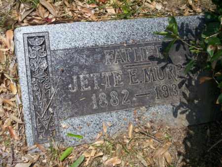 MURPHY, JETTIE E - Union County, Arkansas | JETTIE E MURPHY - Arkansas Gravestone Photos