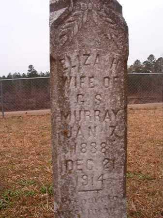 MURRAY, ELIZA H - Union County, Arkansas | ELIZA H MURRAY - Arkansas Gravestone Photos