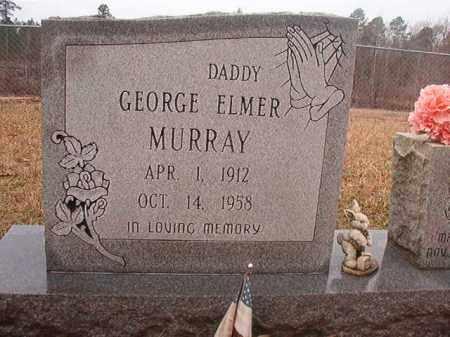 MURRAY, GEORGE ELMER - Union County, Arkansas | GEORGE ELMER MURRAY - Arkansas Gravestone Photos