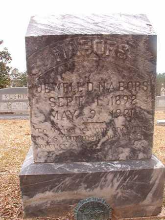 NABORS, JEWELL D - Union County, Arkansas | JEWELL D NABORS - Arkansas Gravestone Photos