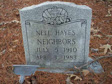 HAYES NEIGHBORS, NELL - Union County, Arkansas | NELL HAYES NEIGHBORS - Arkansas Gravestone Photos