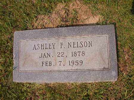NELSON, ASHLEY F - Union County, Arkansas | ASHLEY F NELSON - Arkansas Gravestone Photos