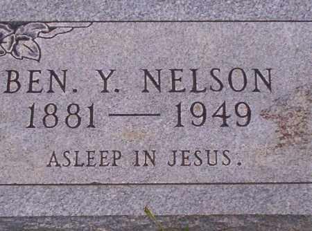 NELSON, BEN Y. - Union County, Arkansas | BEN Y. NELSON - Arkansas Gravestone Photos