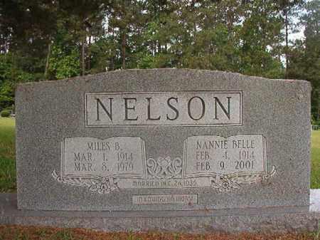 NELSON, NANNIE BELLE - Union County, Arkansas | NANNIE BELLE NELSON - Arkansas Gravestone Photos