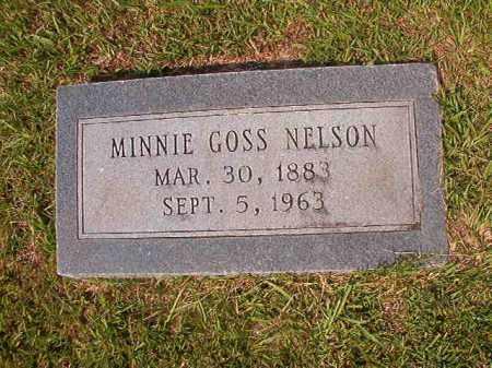 NELSON, MINNIE - Union County, Arkansas | MINNIE NELSON - Arkansas Gravestone Photos